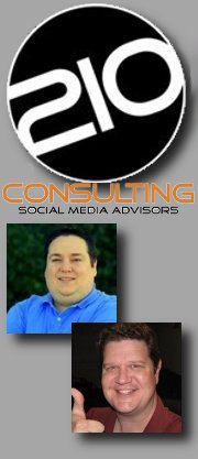 210 Consulting logo and Jeremy Blanton & Jason Crouch