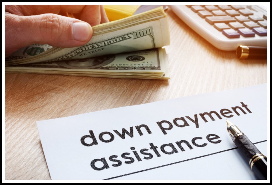 Down payment assistance paperwork