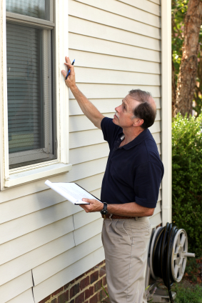 photo of a home inspector